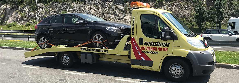 Autómentő Ausztria Mistelbach autómentés és autószállítás Ausztriából