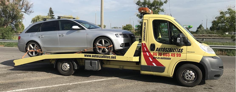 Autószállítás Audi S Line
