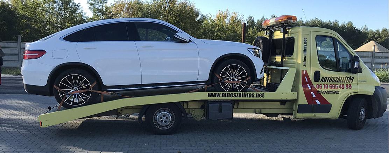 Autószállítás Mercedes suv